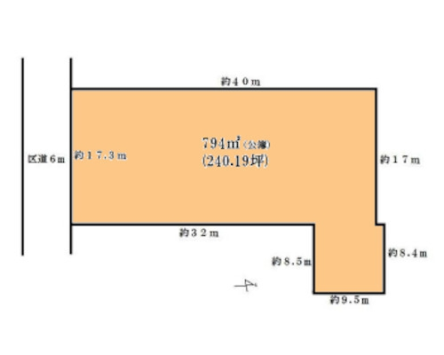 江戸川区 JR総武中央線小岩駅の貸地画像(1)