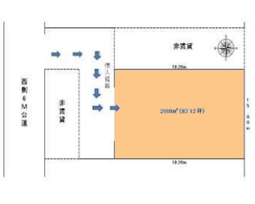 町田市 小田急多摩線唐木田駅の貸地画像(1)