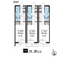 二俣 東京メトロ東西線[原木中山駅]の貸寮物件の詳細はこちら