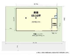 大和田新田 東葉高速鉄道[船橋日大前駅]の貸工場・貸倉庫物件の詳細はこちら