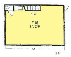 草柳 小田急江ノ島線[大和駅]の貸工場・貸倉庫物件の詳細はこちら