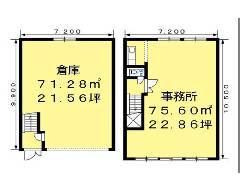 池辺町 ブルーライン[仲町台駅]の貸倉庫物件の詳細はこちら