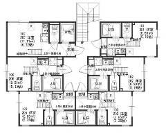 中野島 JR南武線[中野島駅]の貸寮物件の詳細はこちら