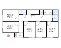 上鶴間本町 小田急小田原線[町田駅]の貸寮物件の詳細はこちら