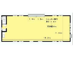 上谷ケ貫 JR八高線[金子駅]の貸工場・貸倉庫物件の詳細はこちら