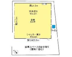 坂之下 JR武蔵野線[新座駅]の貸倉庫物件の詳細はこちら