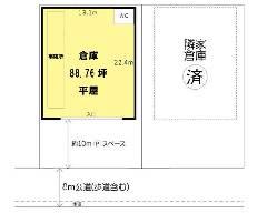 内谷 JR埼京線[武蔵浦和駅]の貸倉庫物件の詳細はこちら