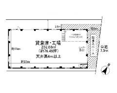 美女木 JR埼京線[北戸田駅]の貸工場・貸倉庫物件の詳細はこちら