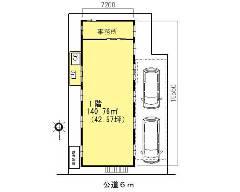 上青木 埼玉高速鉄道[鳩ヶ谷駅]の貸工場・貸倉庫物件の詳細はこちら