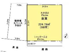 城 JR武蔵野線[東所沢駅]の貸倉庫物件の詳細はこちら