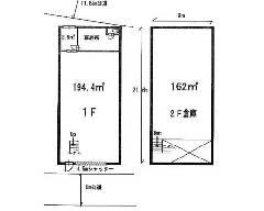 東四つ木 京成押上線[四ツ木駅]の貸工場・貸倉庫物件の詳細はこちら