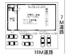 鹿骨 都営新宿線[篠崎駅]の貸工場・貸倉庫物件の詳細はこちら