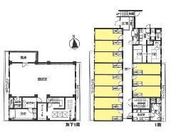 下連雀 JR中央線[三鷹駅]の貸寮物件の詳細はこちら