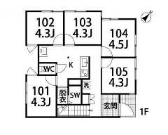 南六郷 京急本線[雑色駅]の貸寮物件の詳細はこちら