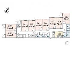 南長崎 西武池袋線[椎名町駅]の貸寮物件の詳細はこちら