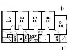 鹿浜 日暮里・舎人ライナー[谷在家駅]の貸寮物件の詳細はこちら