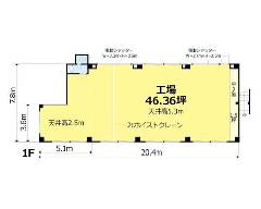 篠崎町 都営新宿線[篠崎駅]の貸工場・貸倉庫物件の詳細はこちら