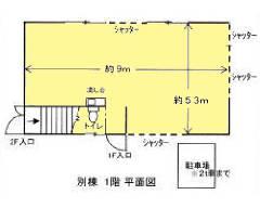 城南島 東京モノレール[流通センター駅]の貸倉庫物件の詳細はこちら