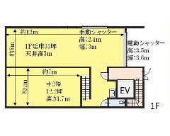 篠崎町 都営新宿線[篠崎駅]の貸倉庫物件の詳細はこちら